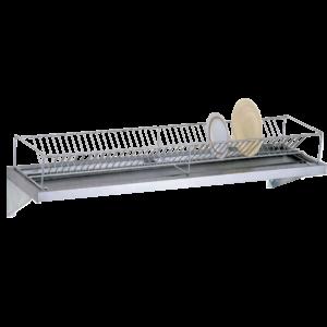 Полка настенная для тарелок открытая ПКТ-600-Н