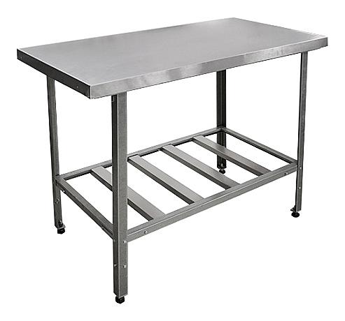 Стол производственный без борта СР-2/1200/700-Ц