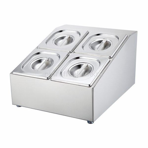 Диспенсер для выкладки на 4 гастроемкости GN1/6-10см