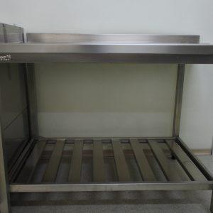 Стол выходной для посудомойки, левый 700х750х870