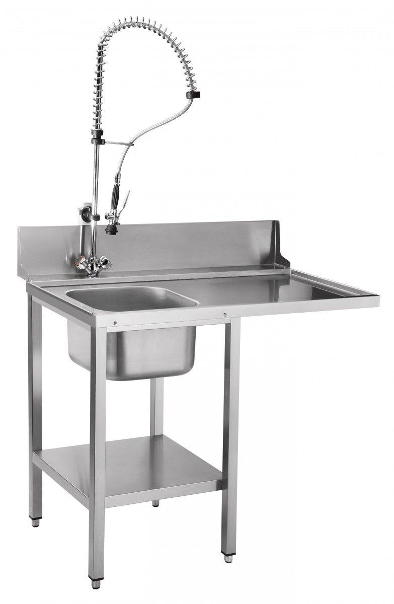 Стол предмоечный СПМФ-7-1 для фронтальных посудомоечных машин МПК-500Ф и МПК-500Ф-02